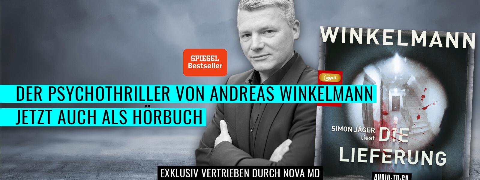 """Der Spiegel-Bestseller """"die Lieferung"""" von Andreas Winkelmann jetzt auch als Hörbuch"""
