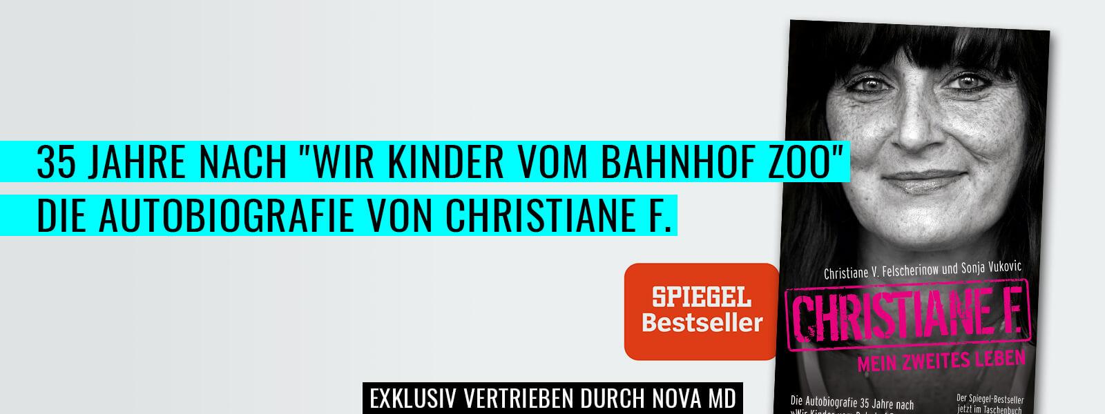 Autobiografie von Christiane F - mein zweites Leben