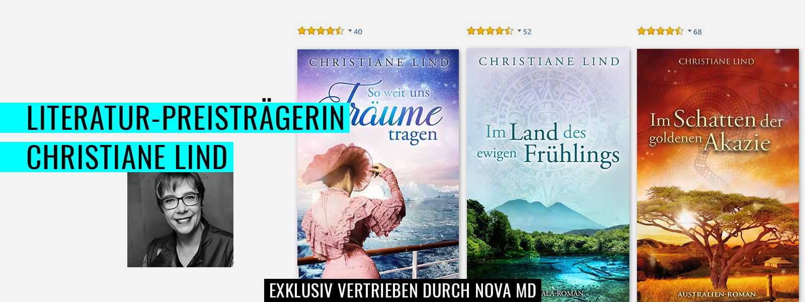Bestseller-Autorin und Literaturpreisträgerin Christiane Lind
