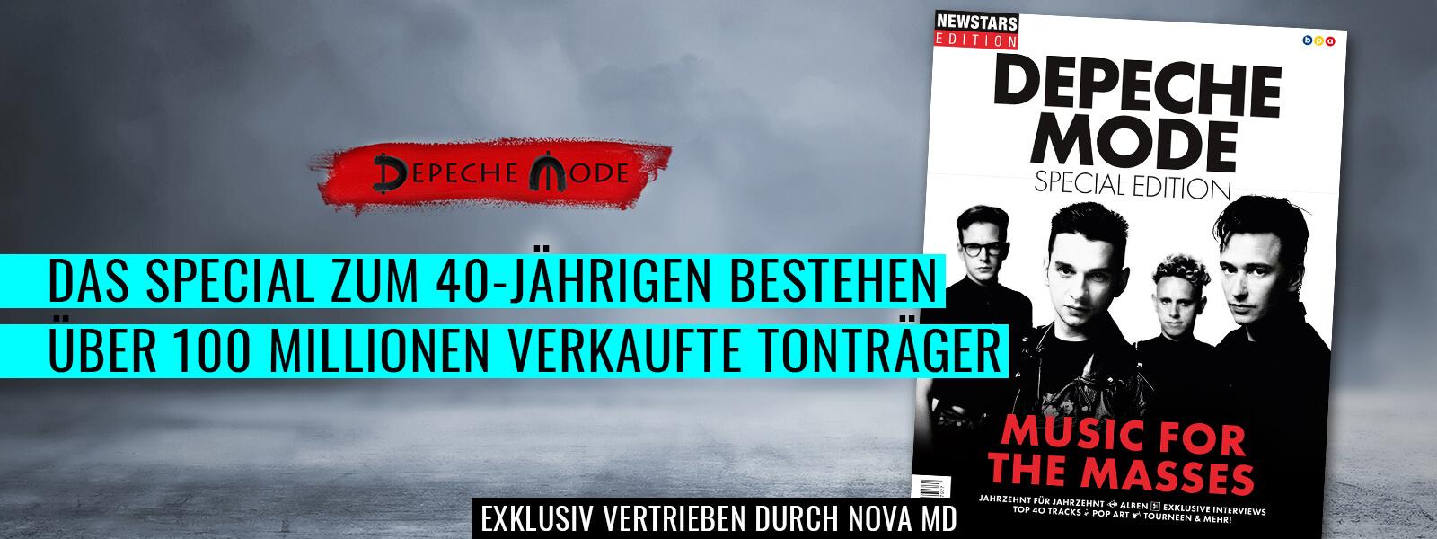 Das Magazin zum 40-jährigen Bestehen von Depeche Mode
