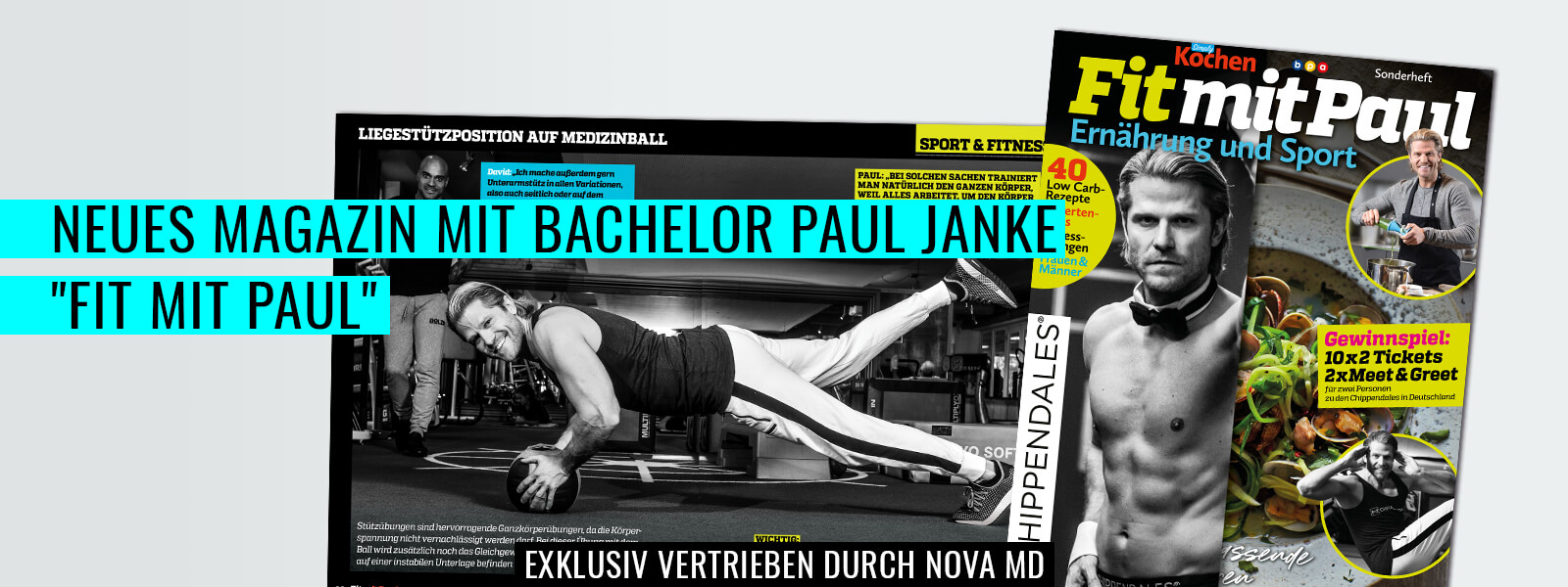 "Fitness-Magazin ""Fit mit Paul"" von Paul Janke"