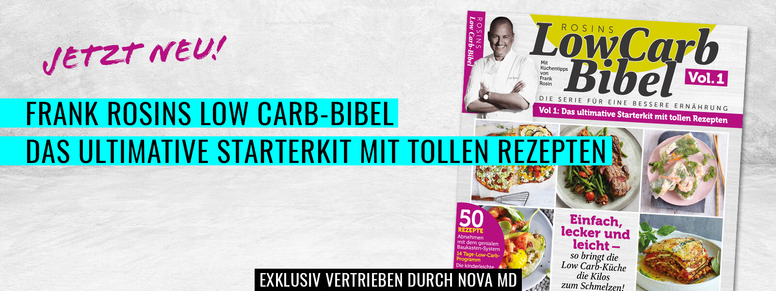 Frank Rosins Low Carb Bibel