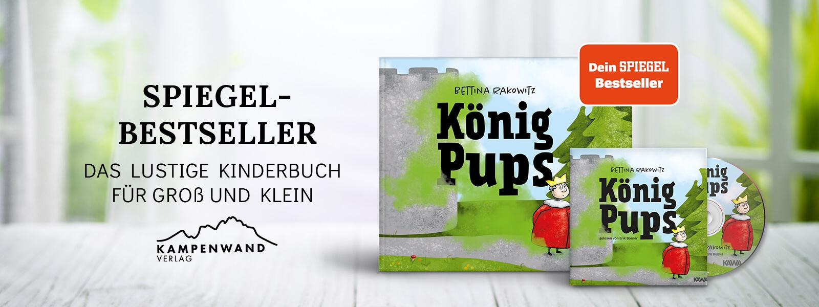 """Dein Spiegel Bestseller Kinderbuch """"König Pups"""""""
