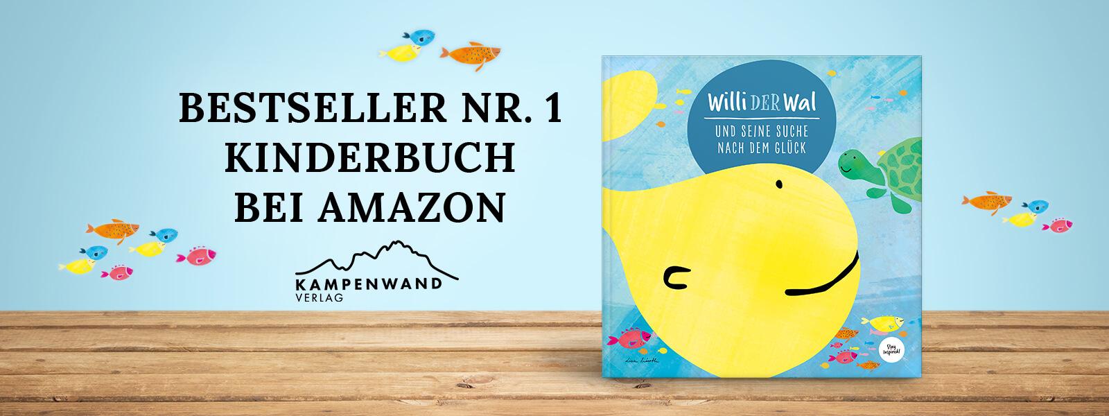 Willi der Wal - Kinderbuch über die Suche nach dem Glück