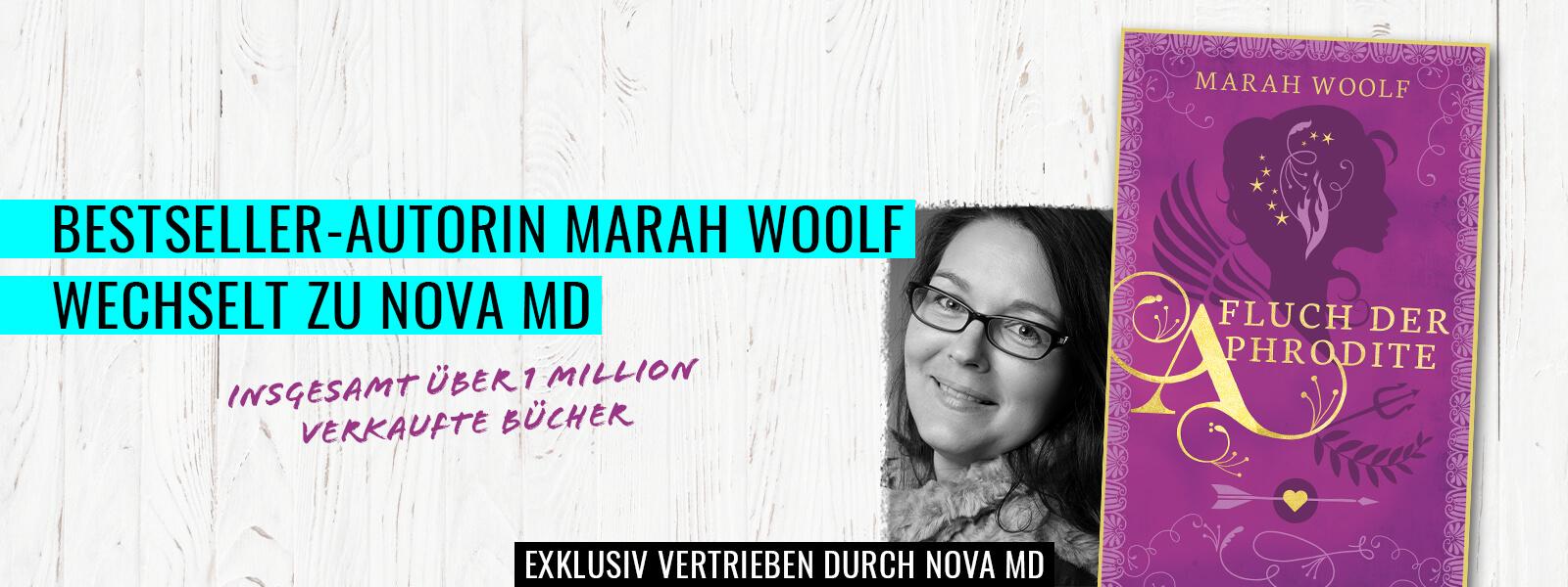 """Bestseller-Autorin Marah Woolf mit """"Fluch der Aphrodite"""""""