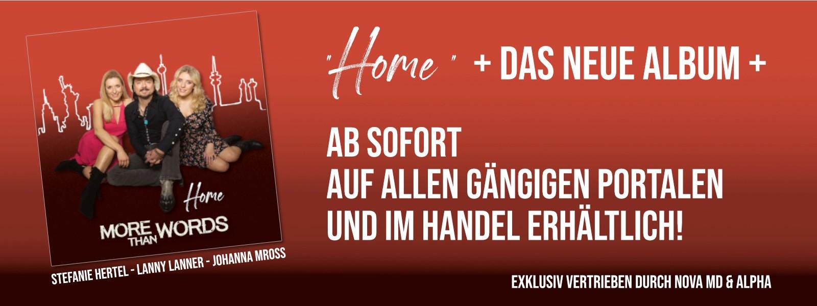 More Than Words - die neue Band von Stefanie Hertel, Lanny Lanner und Johanna Mross