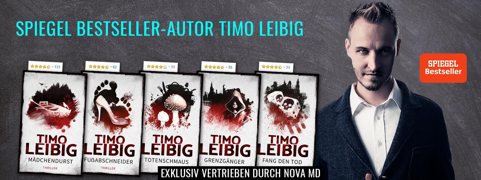 Timo Leibig Selfpublisher und Bestseller-Autor