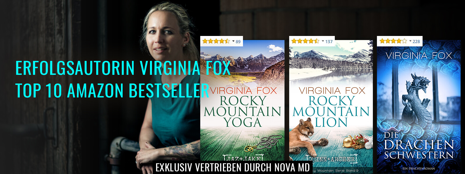 Bestseller-Autorin Virginia Fox