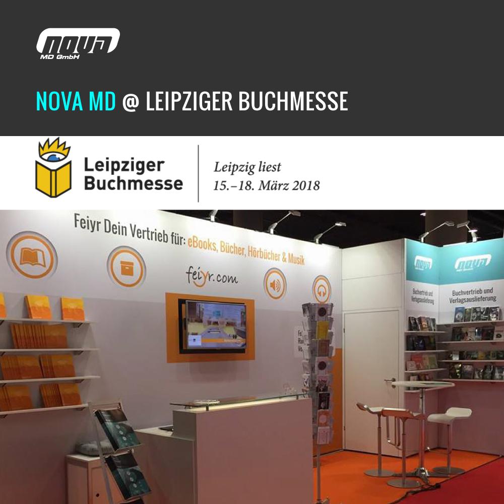 Nova MD auf der Leipziger Buchmesse 2018