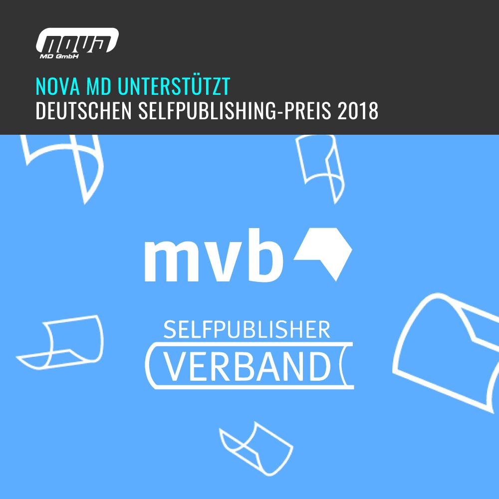 German Selfpublishing Award 2018 - Sponsored by Nova MD