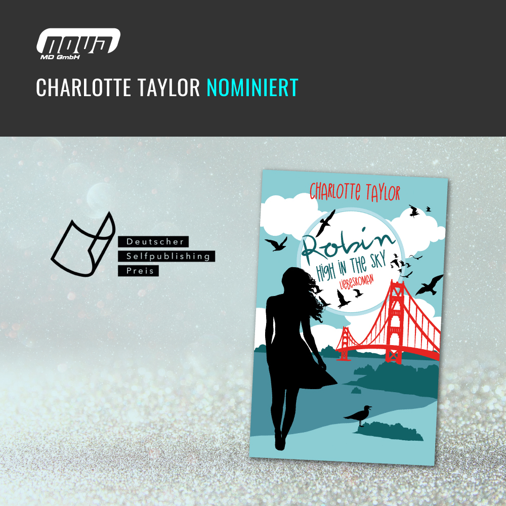 Charlotte Taylor Nominee for the German Selfpublishing Prize 2018