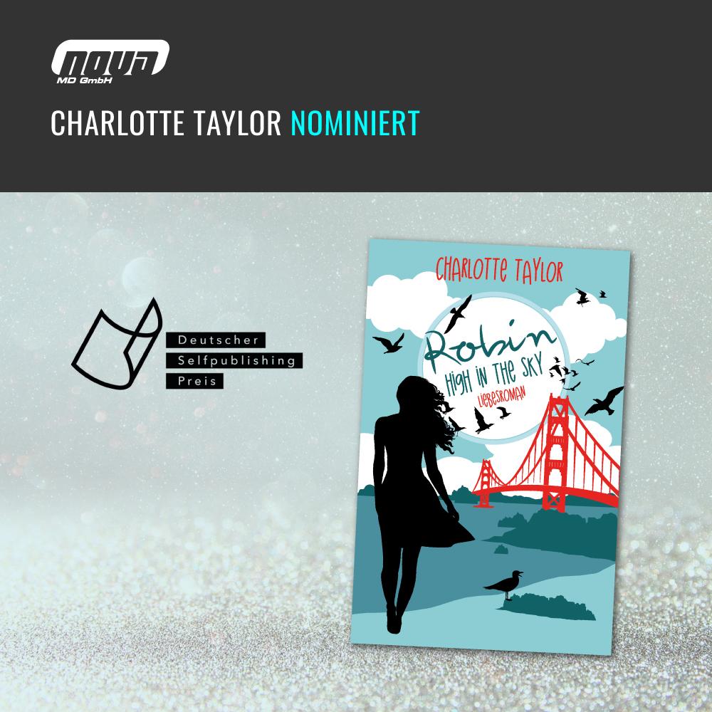 Charlotte Taylor nominiert für den Deutschen Selfpublishing Preis 2018