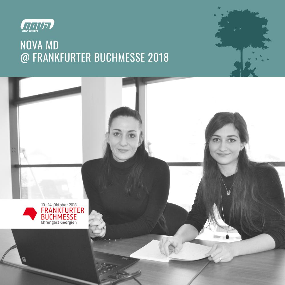 Join Us @ 70th International Frankfurt Book Fair 2018