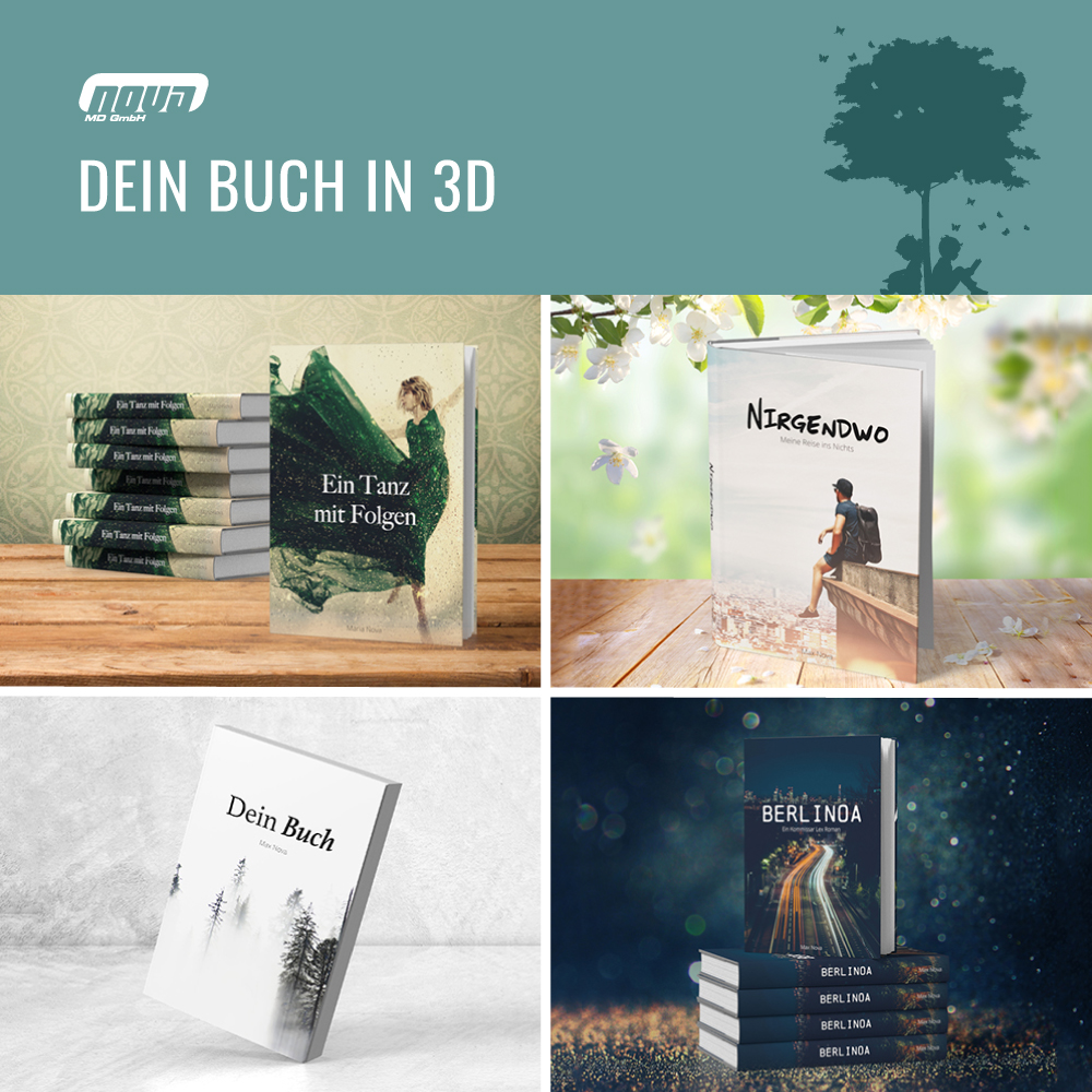 Images That Stand Out - Your Book in 3D