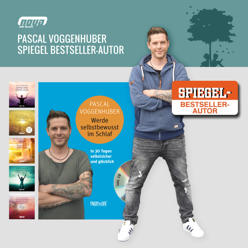 Spiegel Bestseller-Autor Pascal Voggenhuber