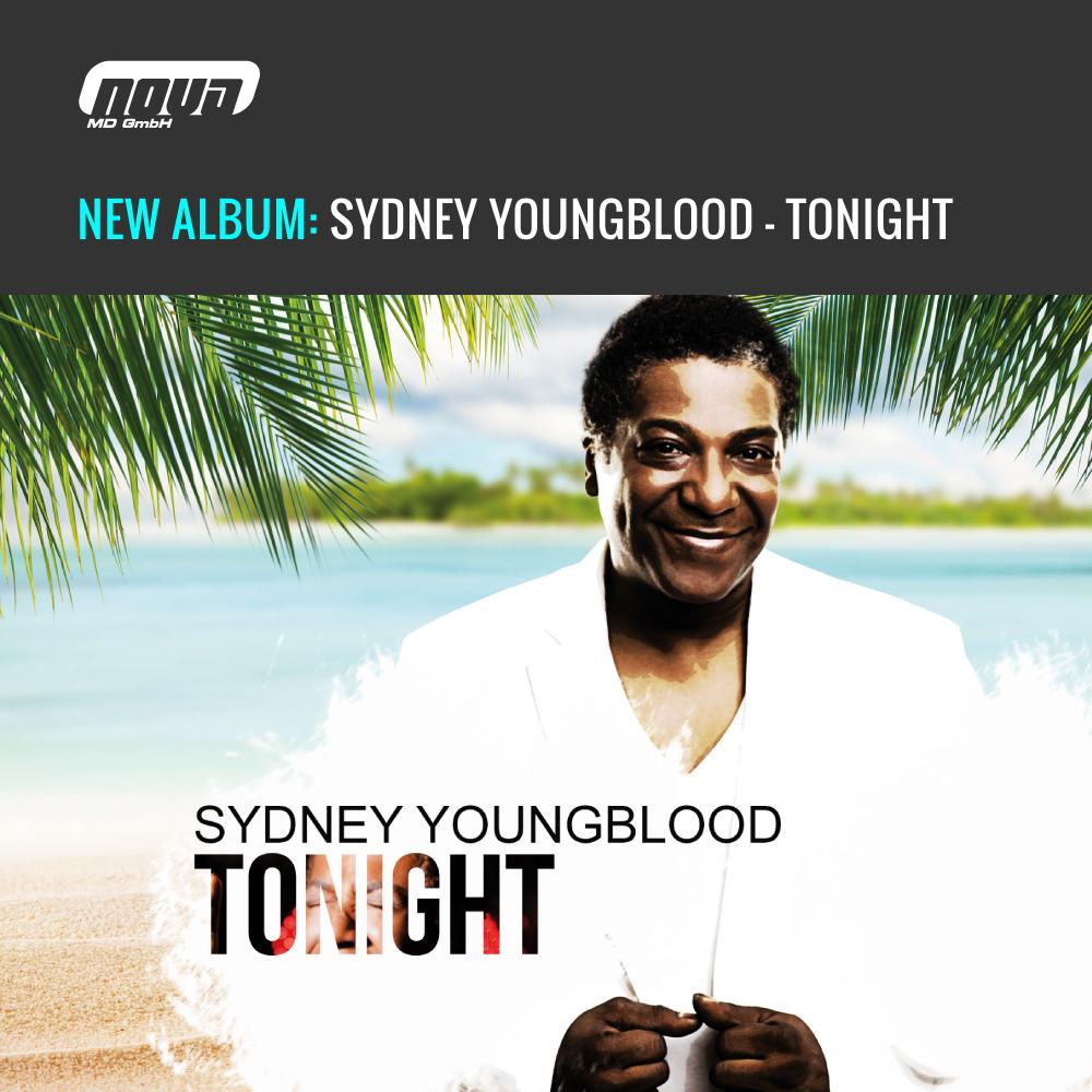 """Neues Album """"Tonight"""" von RTL Dschungelcamp-Star Sydney Youngblood"""
