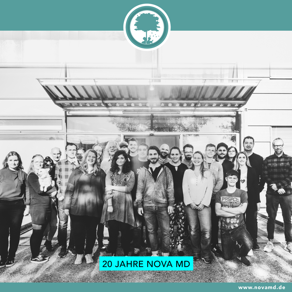 Buch- und Musikvertrieb Nova MD feiert 20-jähriges Jubiläum