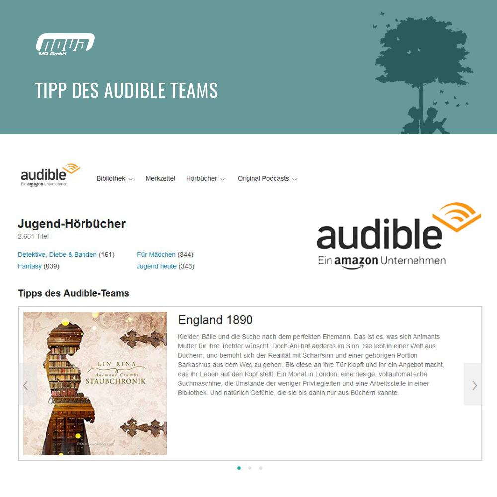Tipp des Audible Teams: Animant Crumbs Staubchronik