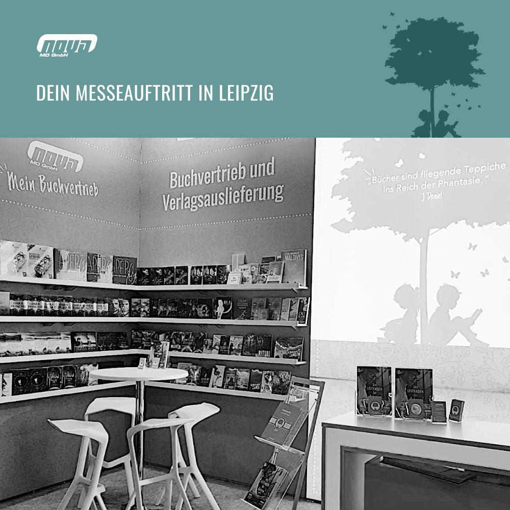 Dein Messeauftritt in Leipzig