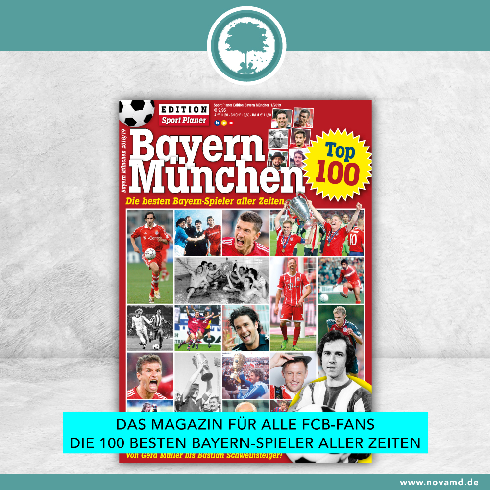 The Best 100 Bayern Players of All Time - Now for Sale!