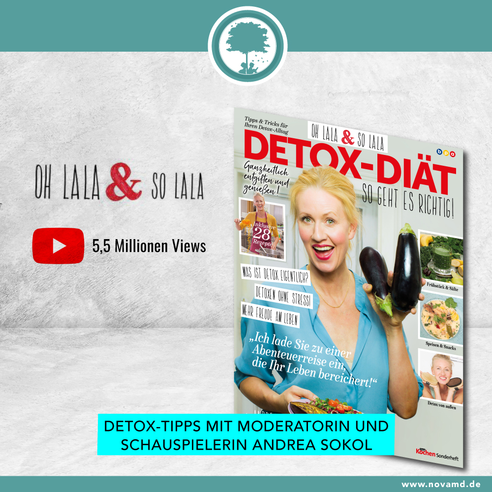 Detox Tips by Andrea Sokol