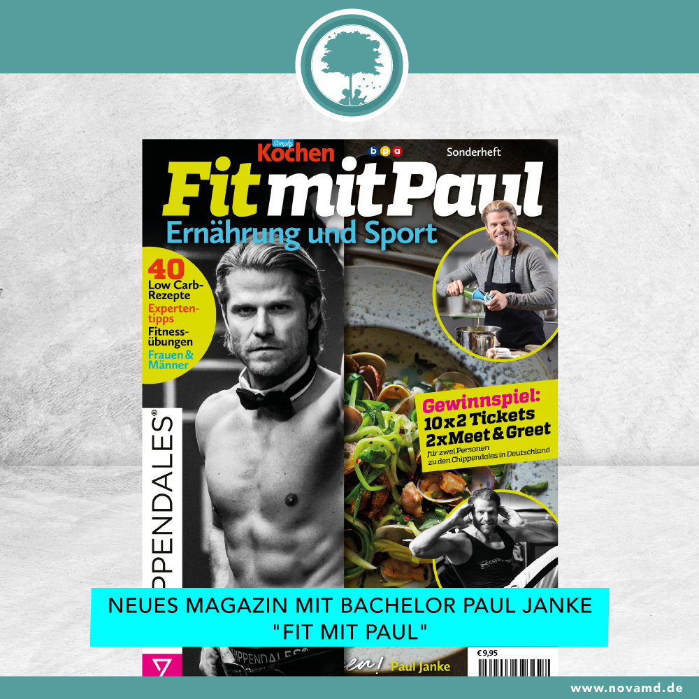 New at Nova MD! Fitness Tips with Bachelor Paul Janke