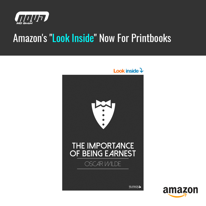 "Amazon's ""Look Inside"" Now For Printbooks"