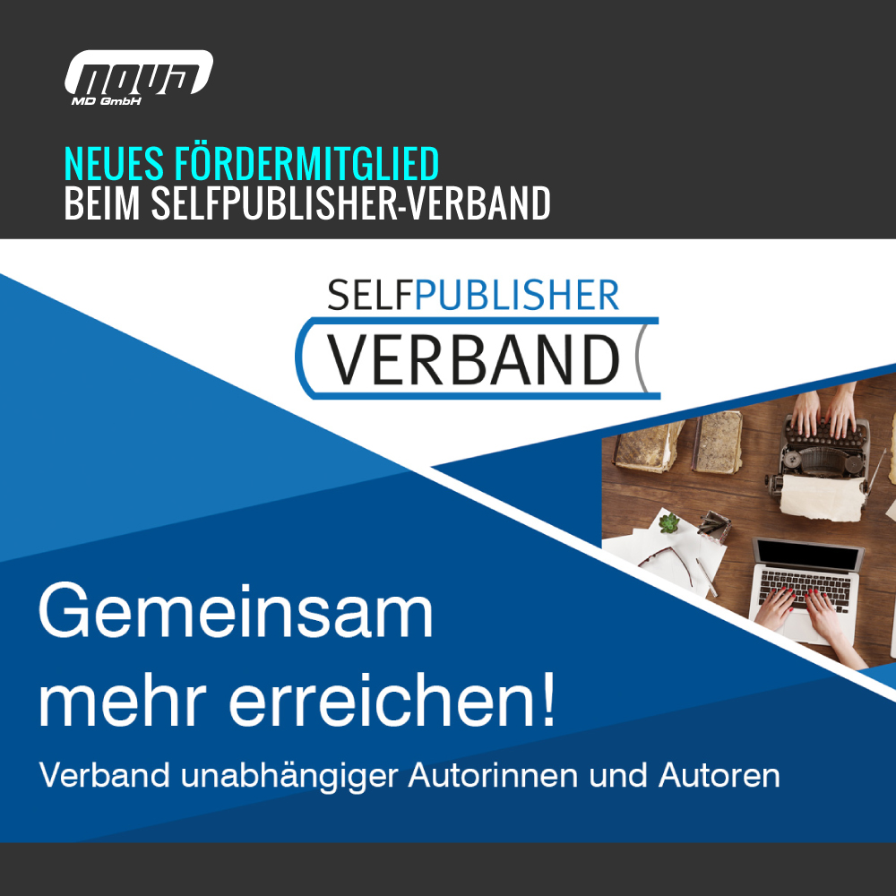 Nova MD is now supporting member of the Selfpublisher-Verband