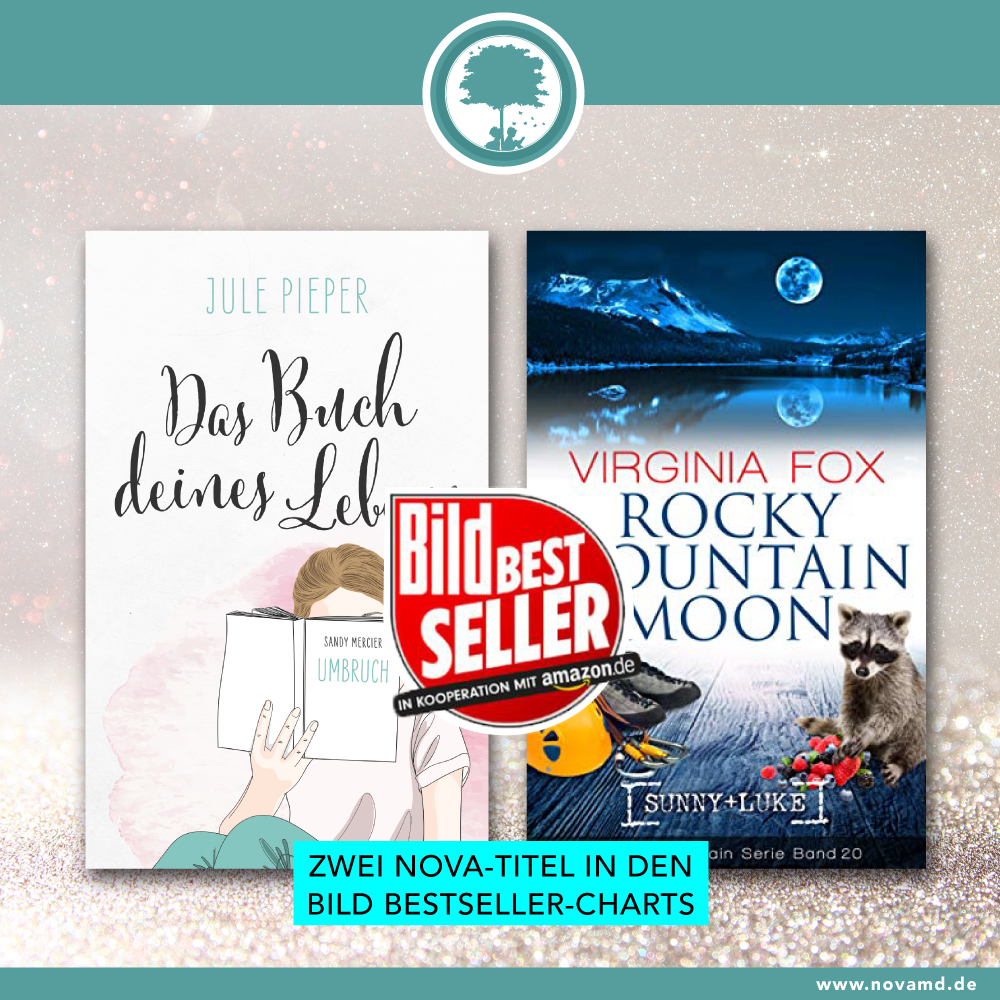 Zwei Nova-Titel in den Bild Bestseller-Charts