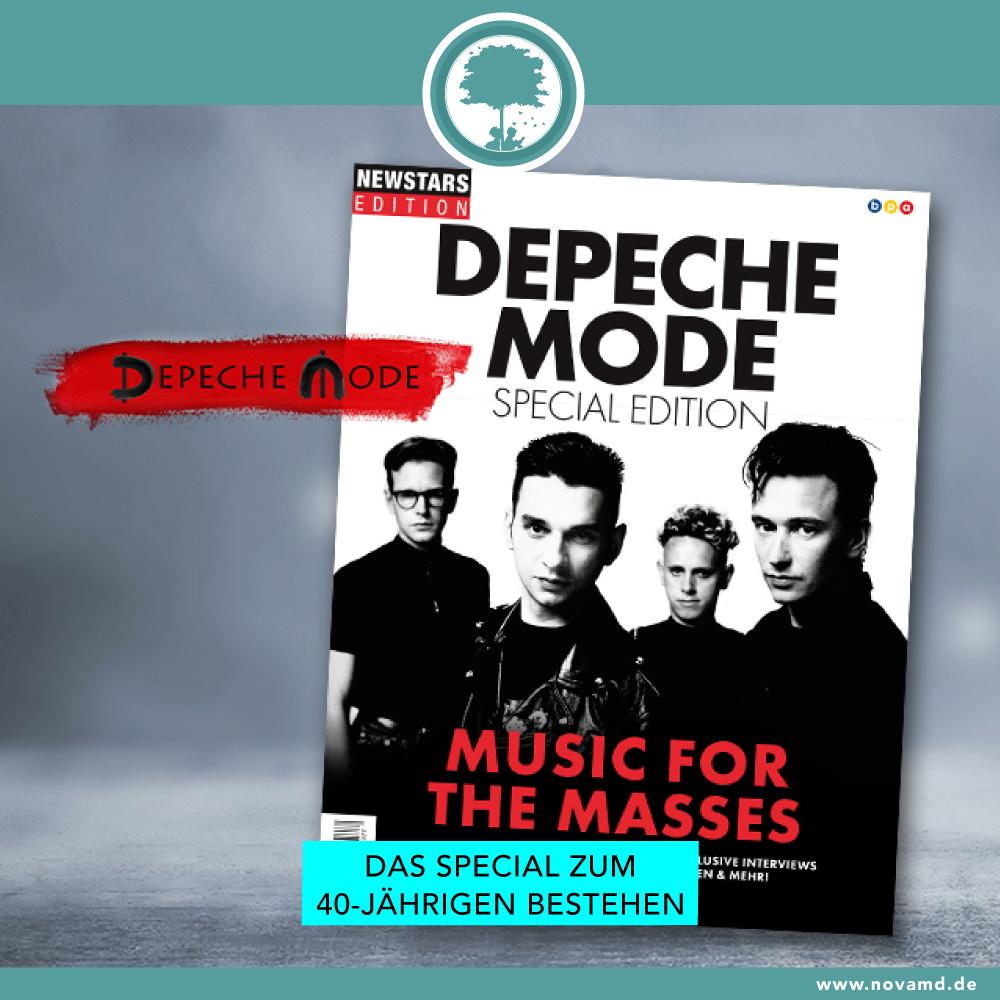 Das Magazin zum 40-jährigen Jubiläum von Depeche Mode