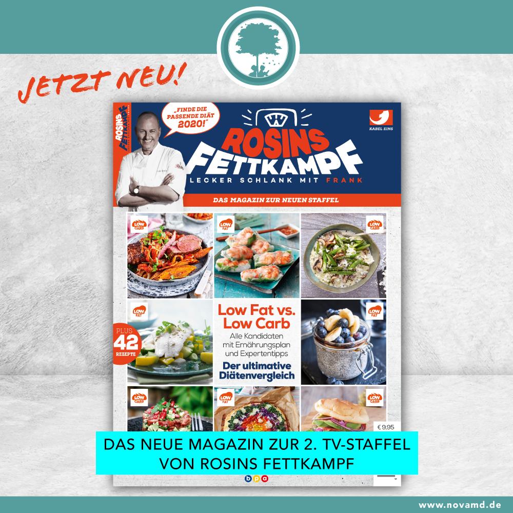 Rosins Fettkampf die zweite Staffel: Das Magazin zur TV-Sendung