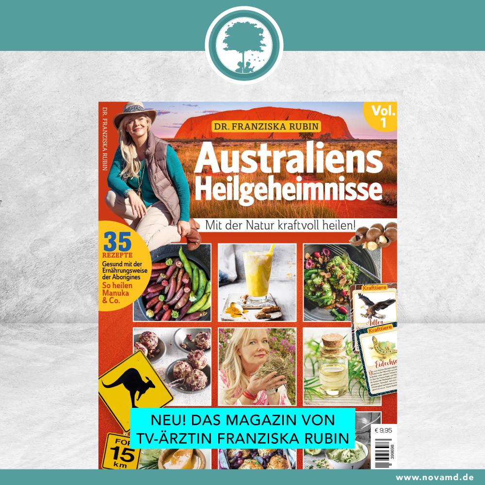 neues Magazin von TV-Ärztin Franziska Rubin