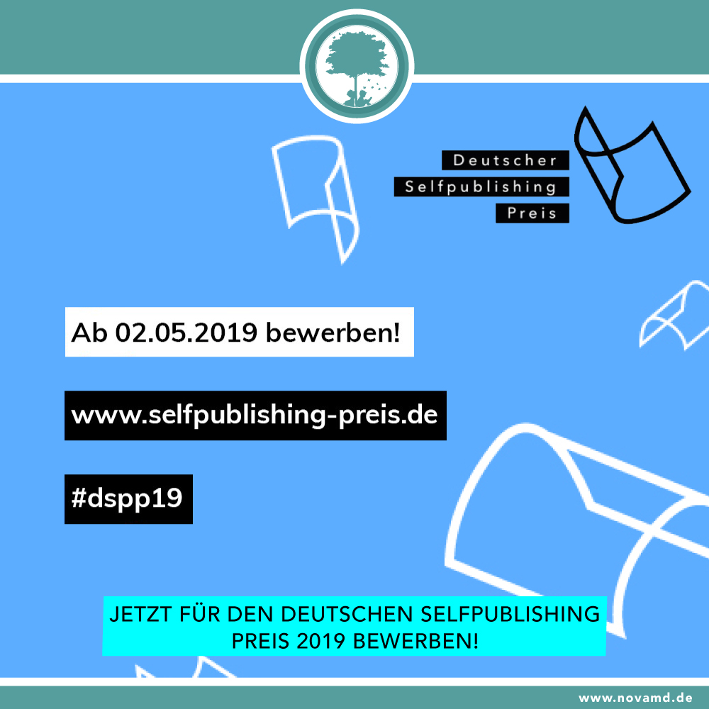 Jetzt für den Deutschen Selfpublishing-Preis 2019 bewerben