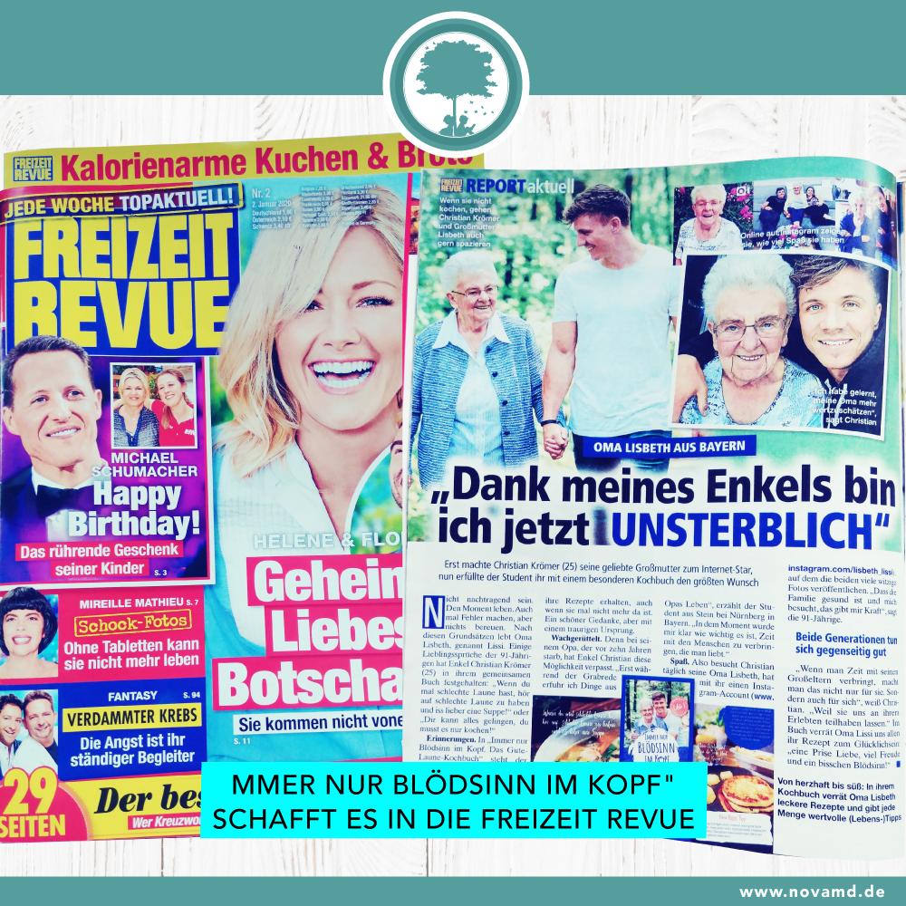 Christian Krömer und Oma Lissi in der Freizeit Revue