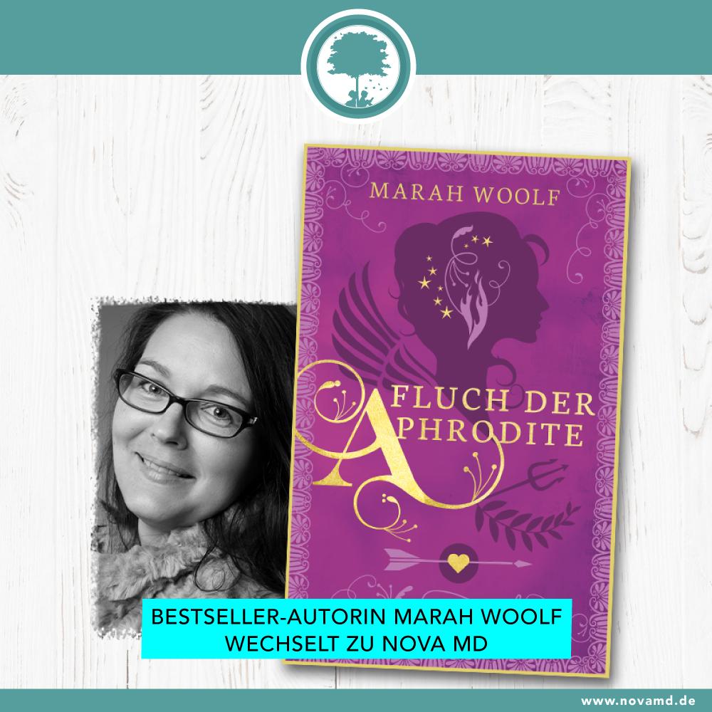Bestseller-Autorin Marah Woolf wechselt zu Nova MD