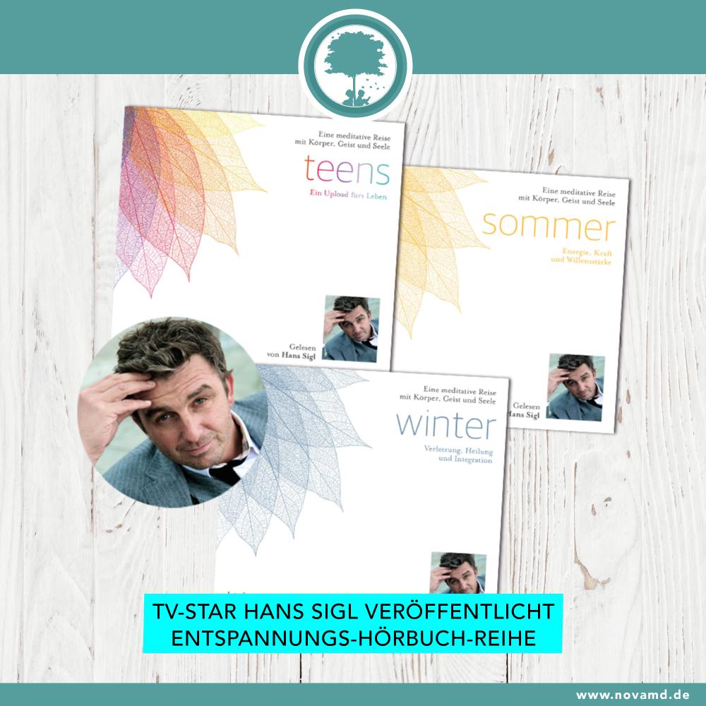 Schauspieler Hans Sigl veröffentlicht eigene Entspannungshörbuch-Reihe
